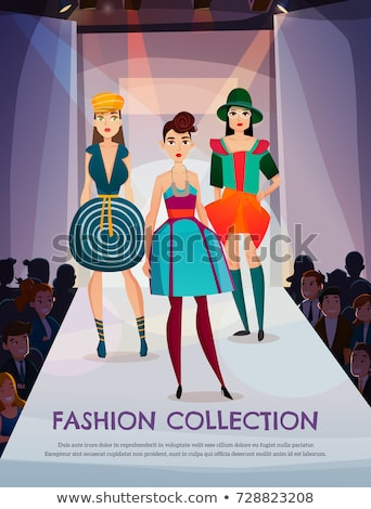 Female model template for fashion clothing design vector stock photo stock vector illustration female model template for fashion clothing design pronofoot35fo Choice Image