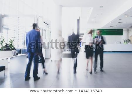 korytarz · tłum · streszczenie · miasta · ziemi · grupy - zdjęcia stock © Paha_L