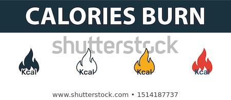 burning calories concept stock photo © lightsource