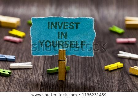 time for career development   motivation quote stock photo © tashatuvango