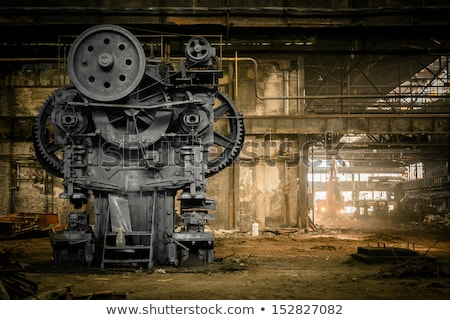 nagy · pocsolya · koszos · út · tájkép · eső - stock fotó © hofmeester