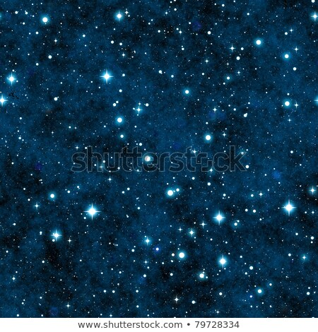 Dark night sky with many stars and constellations, seamless pattern Stock photo © Evgeny89