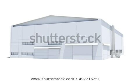 magazijn · business · bouw · venster · schoonheid · kamer - stockfoto © cherezoff