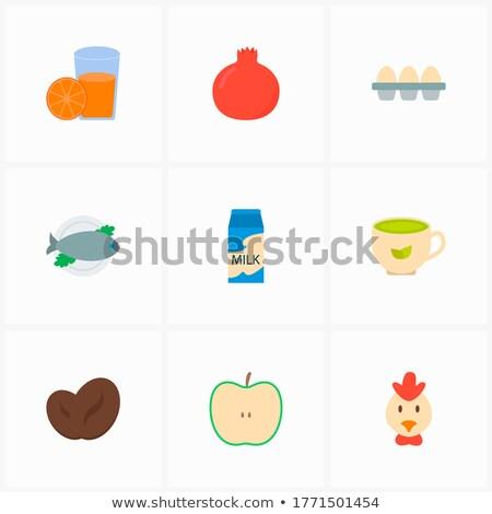 иллюстрация · витамин · происхождение · завода · природы - Сток-фото © robuart