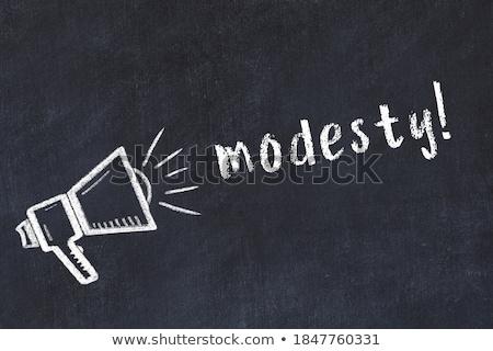 Modesty Stock photo © disorderly