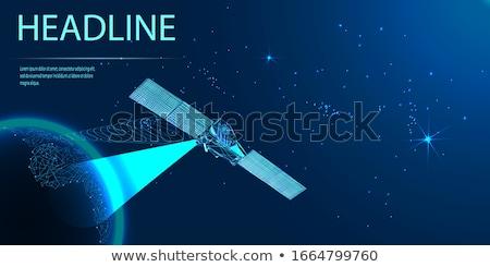 Füze yörünge uzay örnek dünya mavi Stok fotoğraf © adrenalina