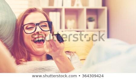 眼鏡 表 ホーム ガラス 色 ストックフォト © remik44992