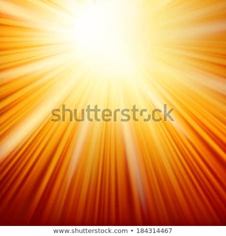 Explosión big bang fuego eps 10 Foto stock © beholdereye