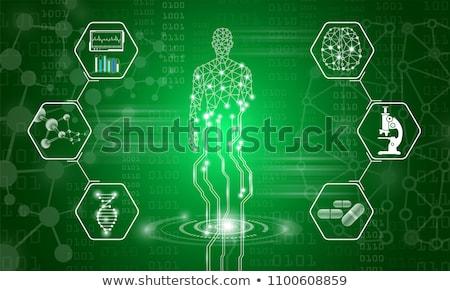 Green Medical Science Technology Stock photo © kentoh