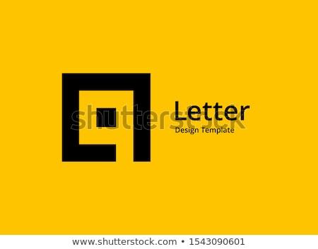 q · betű · ujj · helyesírás · ábécé · amerikai · jelbeszéd - stock fotó © Givaga