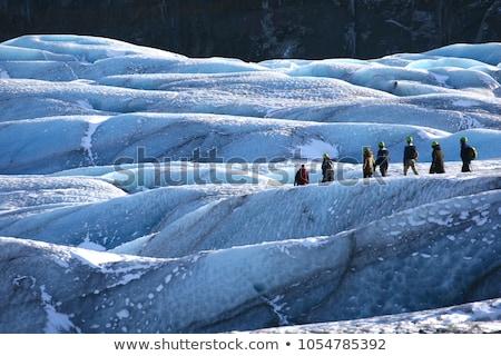 panoráma · tavasz · idő · hó · hegy · utazás - stock fotó © vichie81