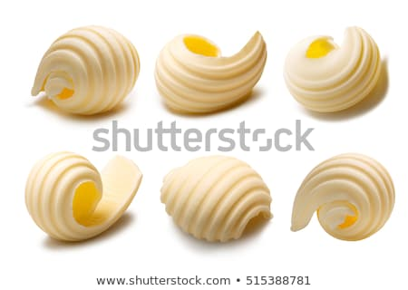Single butter curl Stock photo © Digifoodstock