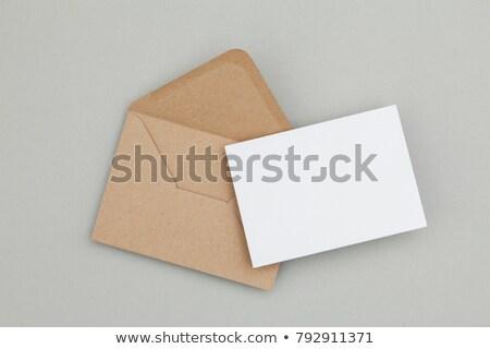 Foto stock: Mockup Post Envelope