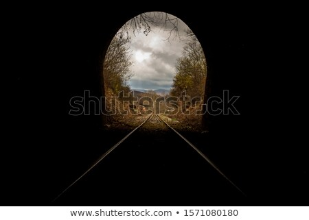 picturesque old railway stock photo © tracer