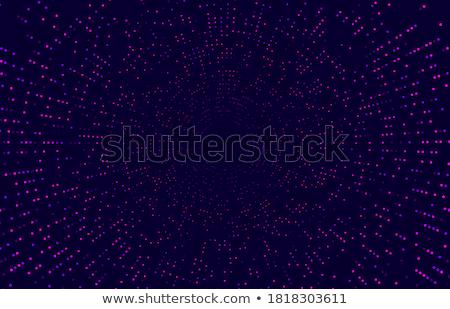 Halftoon technologie vector digitale explosie Stockfoto © pikepicture
