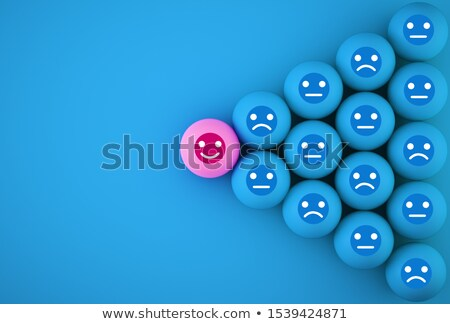 Reviews - Blue Button. Stock photo © tashatuvango