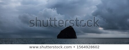 Chief Kiawanda Rock at Cape Kiwanda in Oregon Coast Stock photo © davidgn