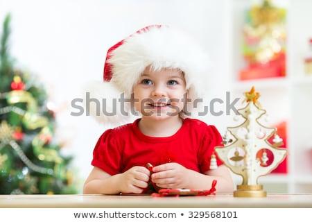 Cookie cap Natale biscotto natale Foto d'archivio © popaukropa