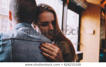 Pár dől egyéb nő férfi férfi Stock fotó © IS2