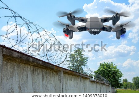 police drone robot stock photo © jossdiim