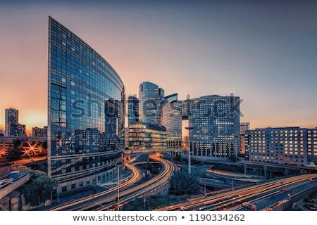 La moderno edifícios Paris França Foto stock © Givaga