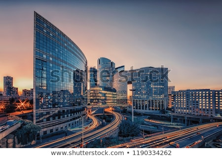защита современных зданий Париж Франция Сток-фото © Givaga