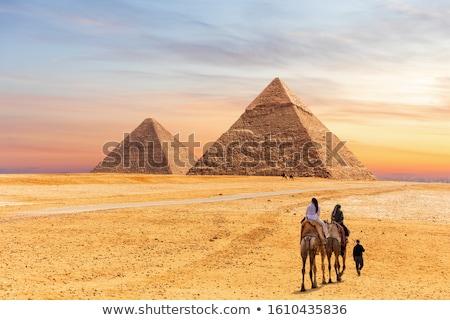 famous ancient egypt Cheops pyramid Stock photo © Mikko