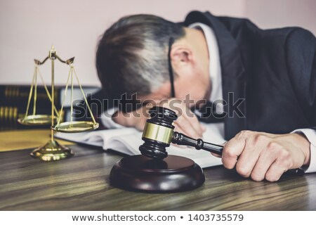 Legal Headache Stock photo © Lightsource