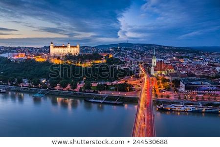 Bratislava by night Stock photo © boggy