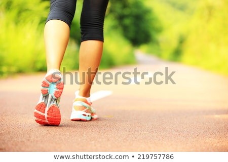 koşucu · spor · ayakkabı · iz · adam · çalışma - stok fotoğraf © blasbike