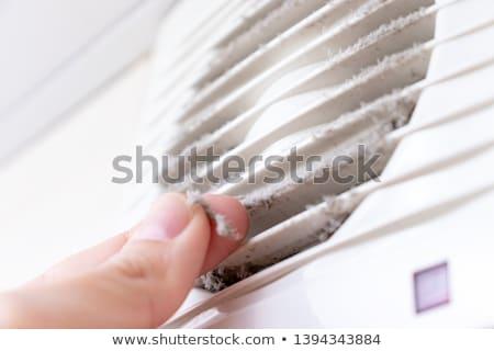 Ventilazione metal fabbrica industriali acciaio bordo Foto d'archivio © kayros