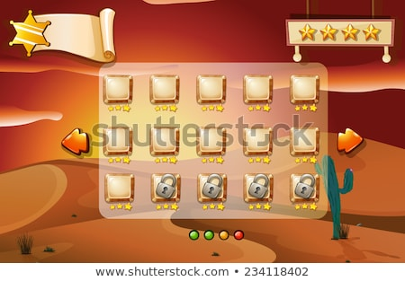 A game unlocking the next stages Stock photo © colematt