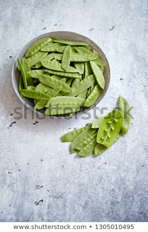 frijol · verde · tazón · superior · vista - foto stock © dash