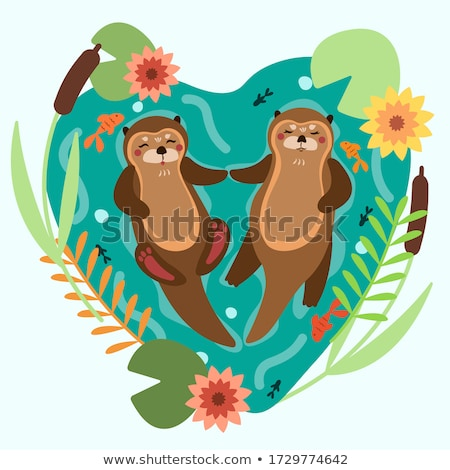 Сток-фото: зоопарке · иллюстрация · дизайна · искусства · животные · животного
