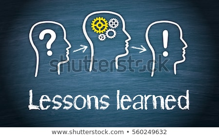 lessons learned stock photo © mazirama
