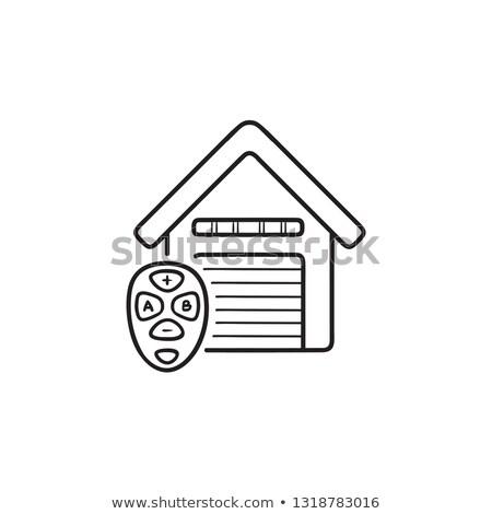 スマート · 車のキー · アイコン · ベクトル · 実例 - ストックフォト © rastudio