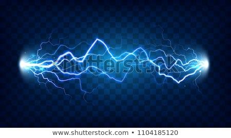 Osoczu świetle wektora elektryczne moc energii Zdjęcia stock © pikepicture