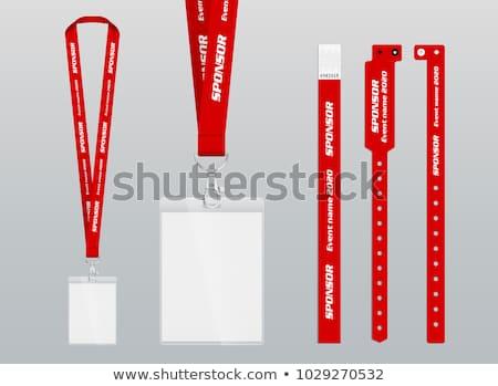 браслет графического дизайна шаблон вектора изолированный иллюстрация Сток-фото © haris99