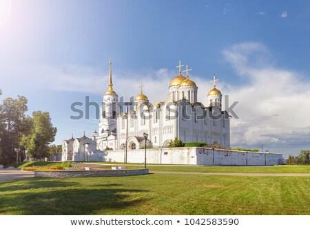 собора Россия используемый матери Церкви средневековых Сток-фото © borisb17