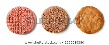 vlees · schaal · tomaat · lam - stockfoto © lightsource