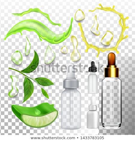 cilt · bakımı · kozmetik · ayarlamak · renk · farklı · şampuan - stok fotoğraf © pikepicture