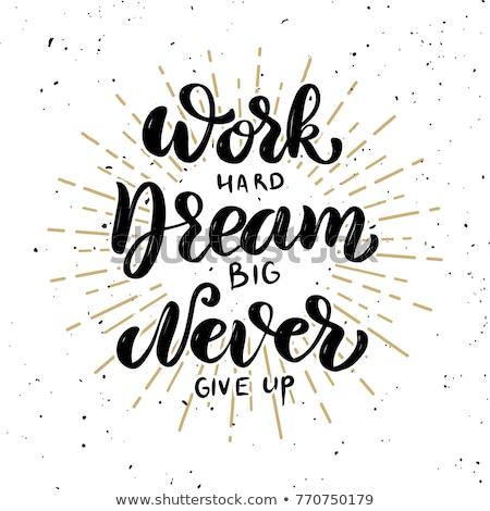 lavoro · successo · persone · sogno · up - foto d'archivio © foxysgraphic