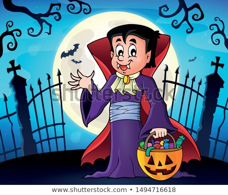 Halloween vampire topic image 1 Stock photo © clairev