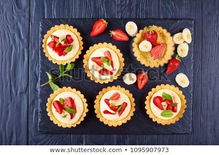 creamy tart Stock photo © olegtoka