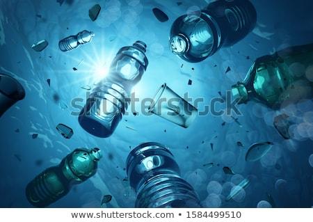 Plastic Ocean Pollution And Microplastics Stock photo © solarseven