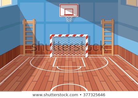 Targets on Wooden Floor in the Room Stock photo © make
