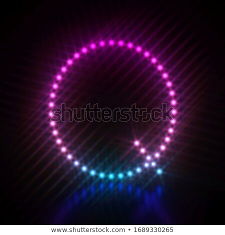 Różowy niebieski kropka świetle chrzcielnica litera q Zdjęcia stock © djmilic