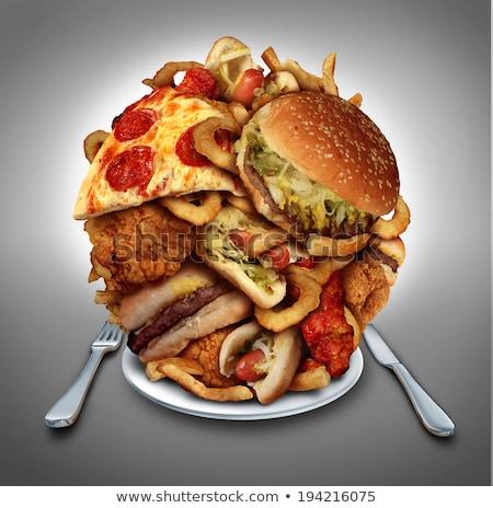 Pikantny żywności czerwony kolor crack Zdjęcia stock © zkruger