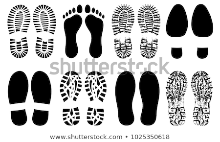 Shoe Sole Detail Icon Vector Outline Illustration Stock photo © pikepicture