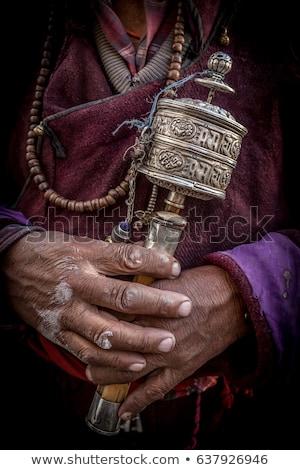 Buddhista ima kerekek völgy Stock fotó © dmitry_rukhlenko
